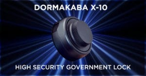 Dormakaba X-10 High Security Government Lock