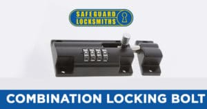 combination locking bolt