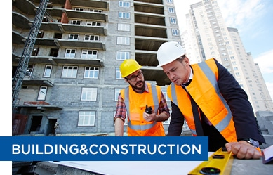 clients from the building and construction industry