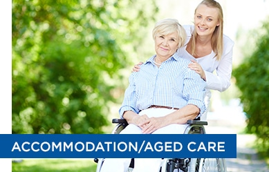 accommodation and aged care clients